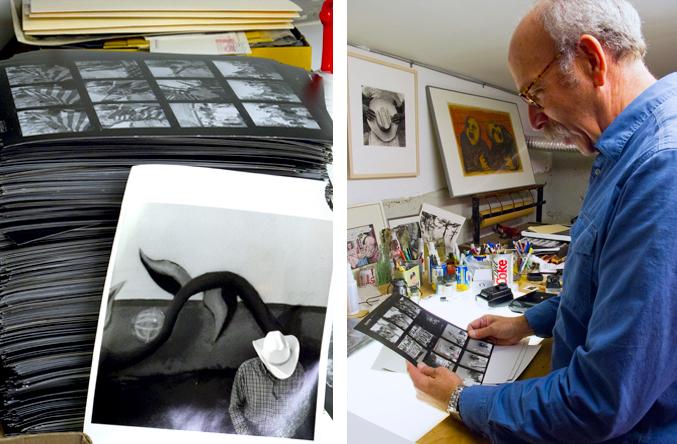 A print of Ken Light's photograph,