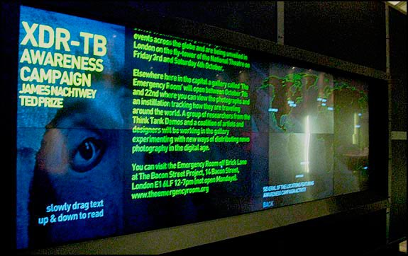 TED Prize - James Nachtwey/XDR-TB rollout: London, England, courtesy © Flickr user emergency_room, 2008