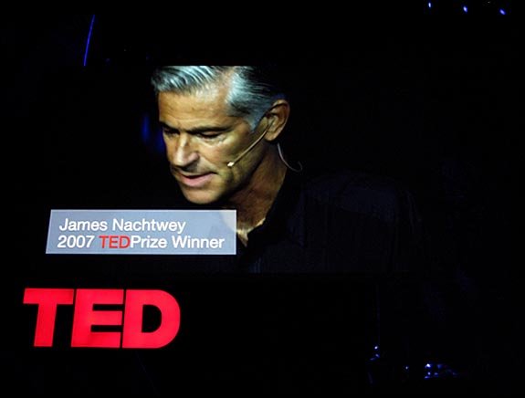 James Nachtwey, 2007 TED Prize winner, courtesy © Susan Katz, 2009